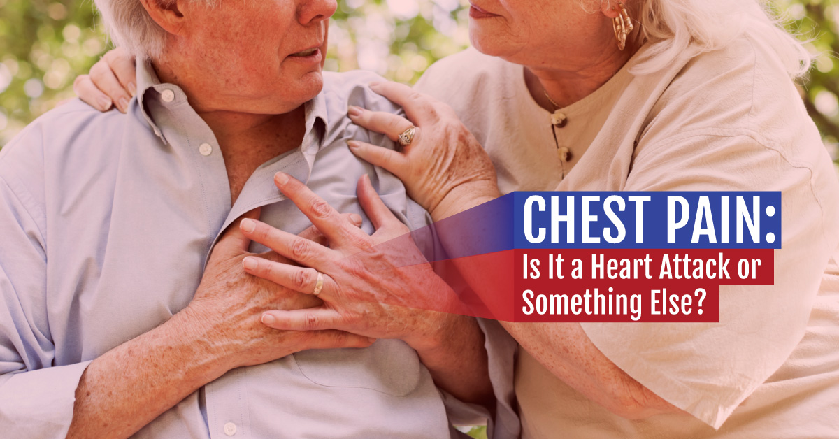 how to know if its chest pain or heart pain